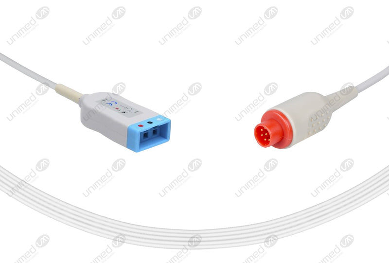 Bionet Compatible ECG Trunk Cables 3 Leads,Bionet 3-pin