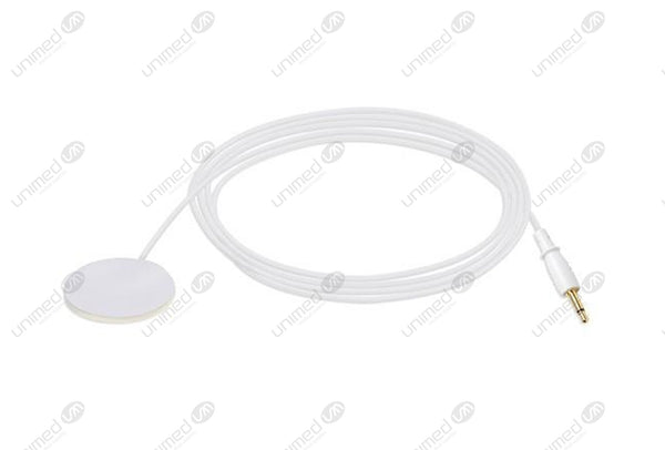 10K Compatible Disposable Temperature Probe Adult Skin Sensor 2.5ft Box of 20