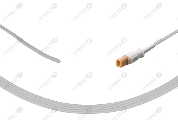 Mindray Compatible Reusable Temperature Probe-040-000056-00 Pediatric General Probe 10ft
