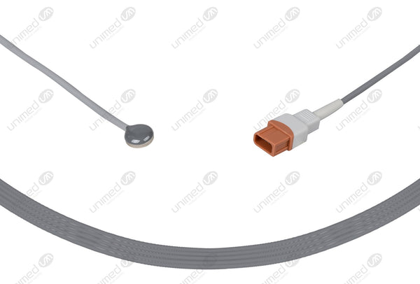 Spacelabs Compatible Reusable Temperature Probe-20700-4000-00 Adult Skin Sensor 10ft