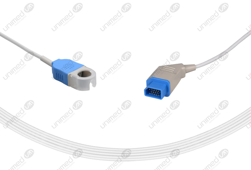 Nihonkohden Compatible SpO2 Interface Cables  - JL-900P 10ft