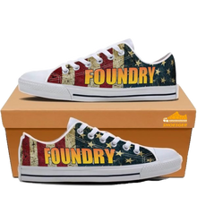 Load image into Gallery viewer, Foundry Logo All American Converse Sneakers