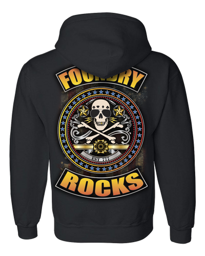Foundry Color Logo Hoodie w/ Band Name