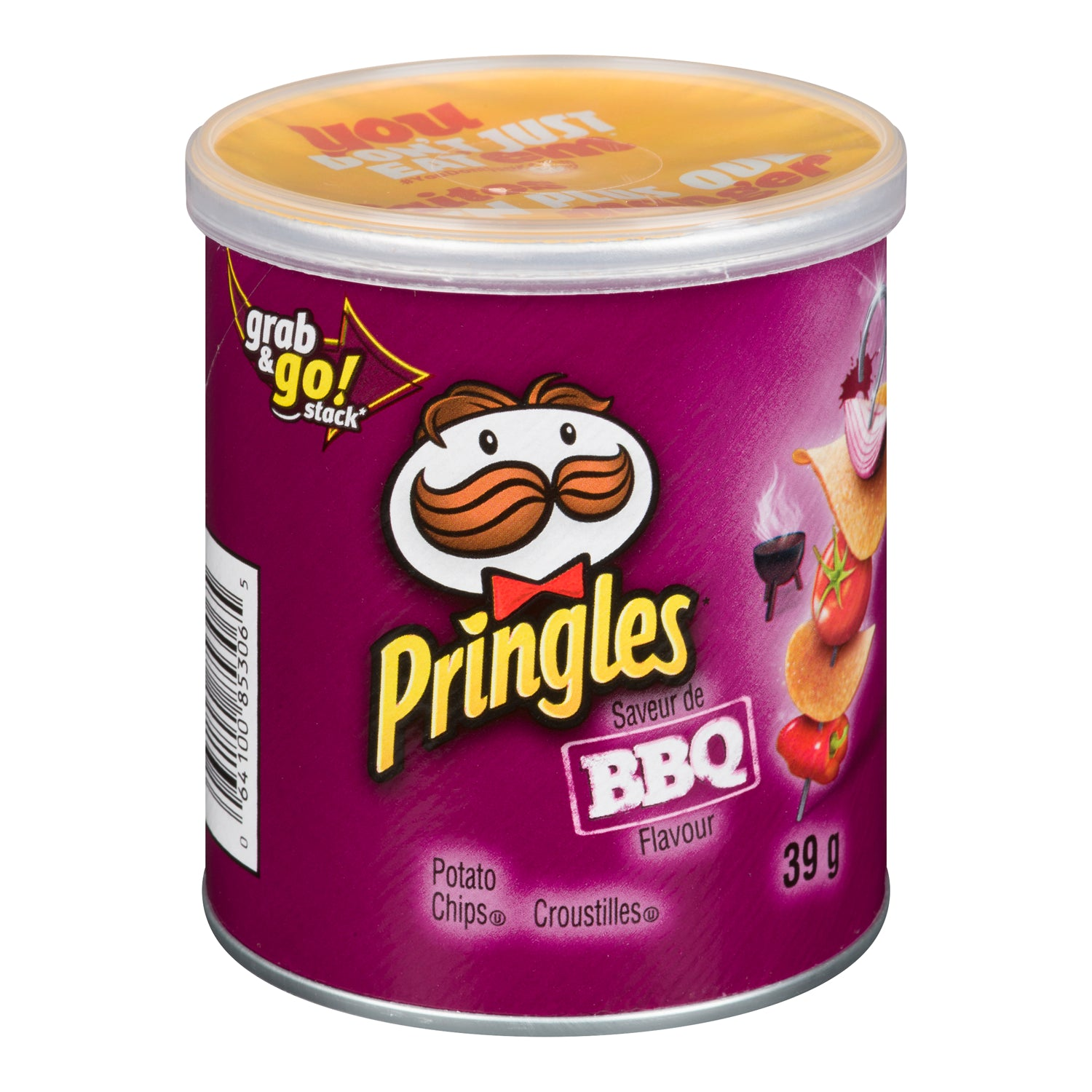 Pringle BBQ Potato Chips 39 g - 12 Pack [$0.83/each]