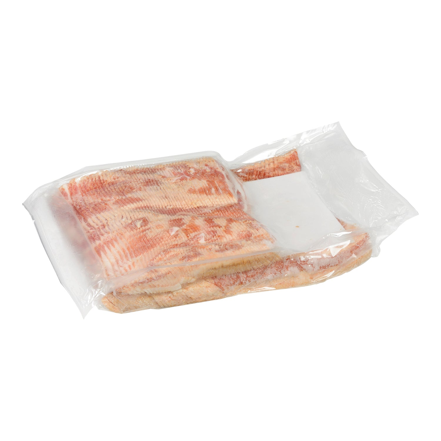 Sysco Classic Fresh Thick Sliced Centre Cut Bacon 5 kg - 1 Pack [$12.20/kg]