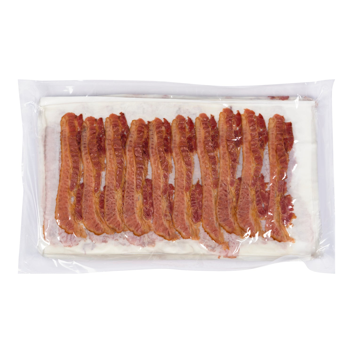 Olymel Fresh Extra Thin Sliced Bacon 300 slices Pre-Cooked - 1 Pack [$0.43/slice]