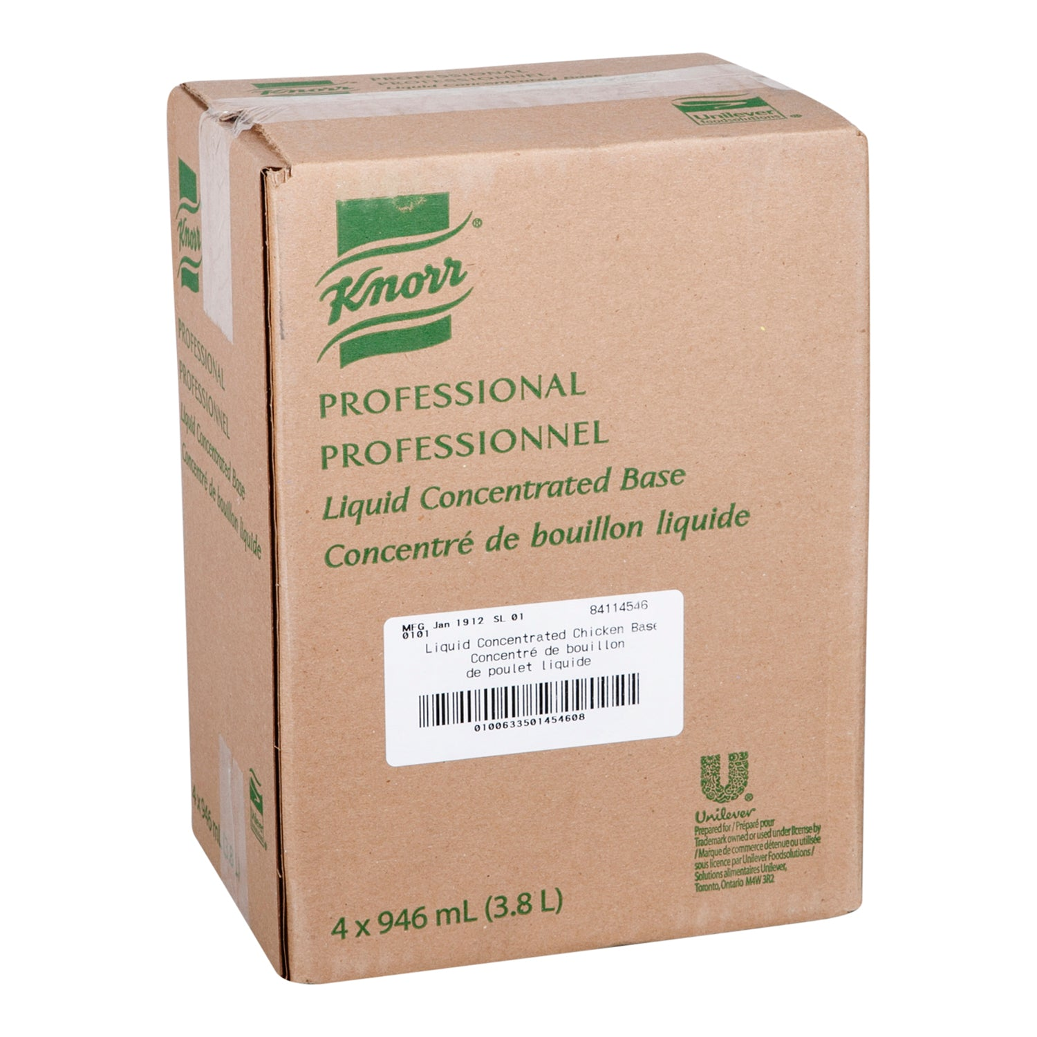 Knorr Professional Liquid Concentrated Chicken Base 946 ml - 4 Pack [$17.00/each]