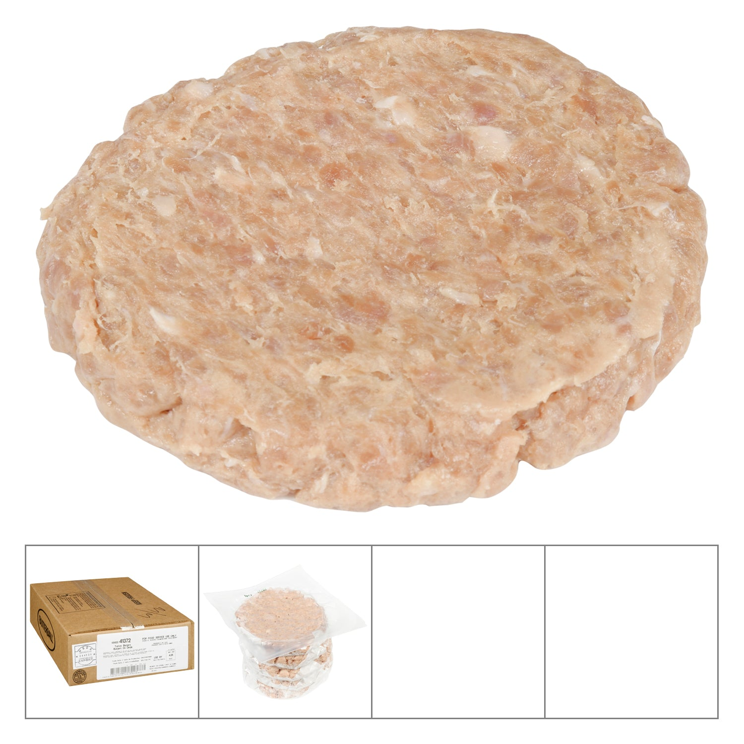 Butterball Frozen Turkey Burger 5 oz - 30 Pack [$1.47/each]