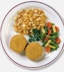 High Liner Individually Quick Frozen breaded fish cakes 2 oz - 10 lb - 1 Pack [$3.90/lb]