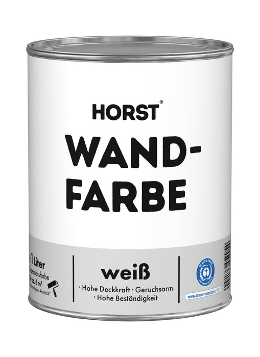 HORST Wandfarbe weiss