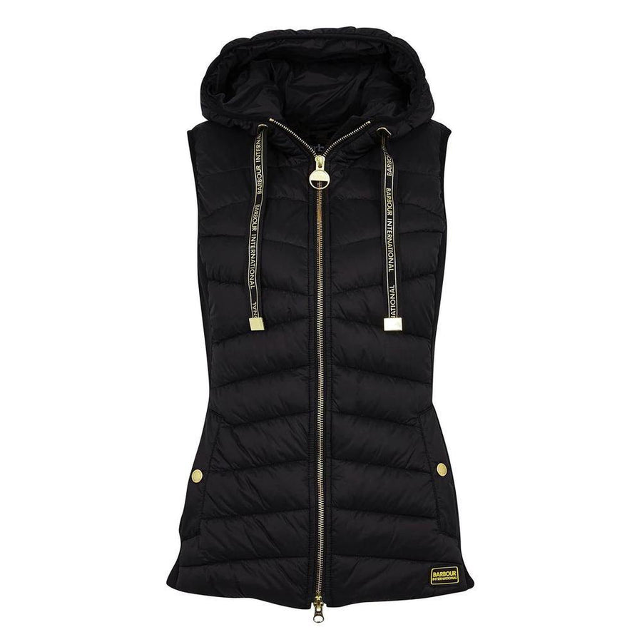 barbour intl. grid gilet - JAVELIN