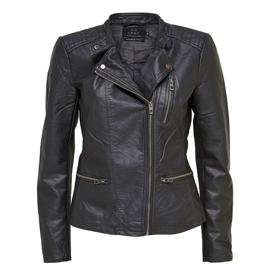 only freya faux leather biker - JAVELIN