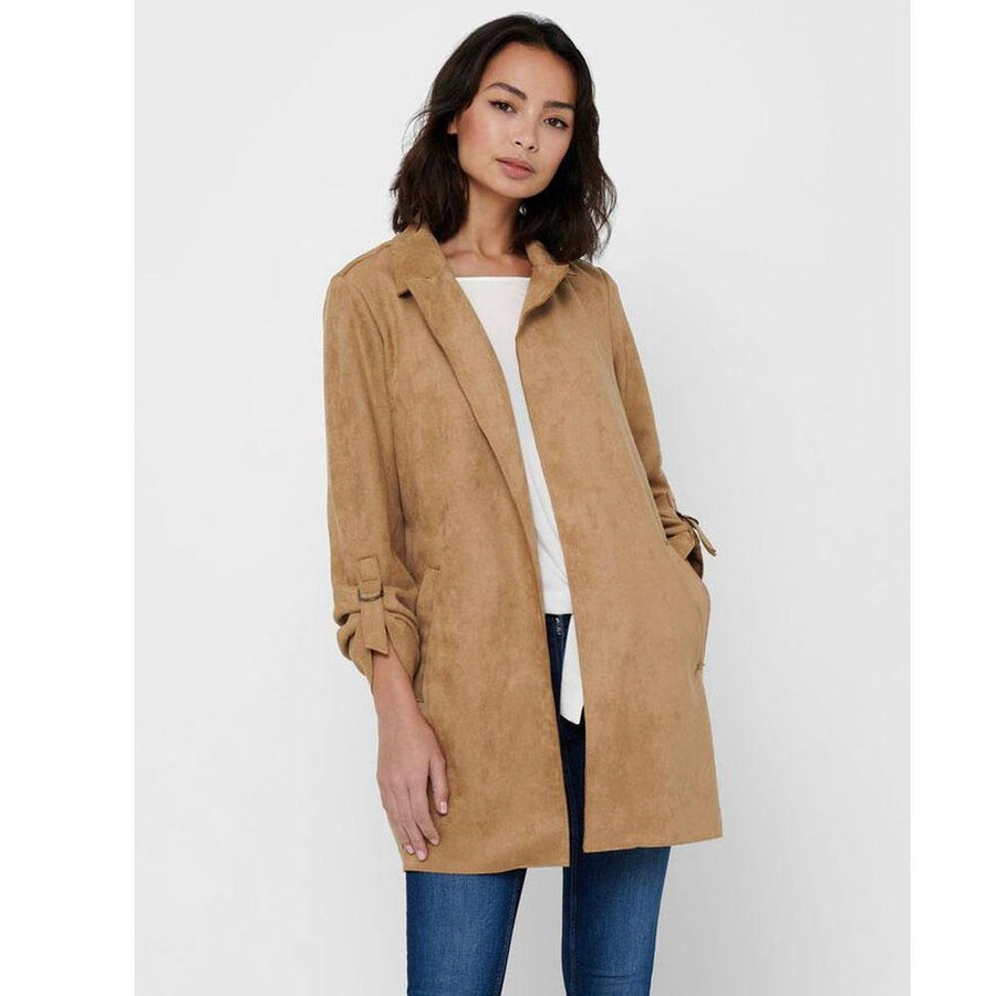only joline faux suede coat - JAVELIN