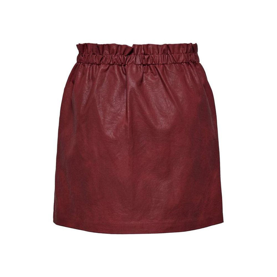 ONLY DARLING FAUX LEATHER SKIRT - JAVELIN