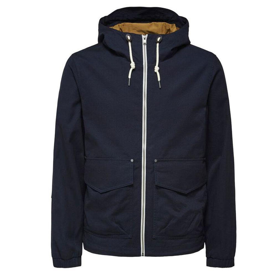 selected homme baker cotton jacket - JAVELIN