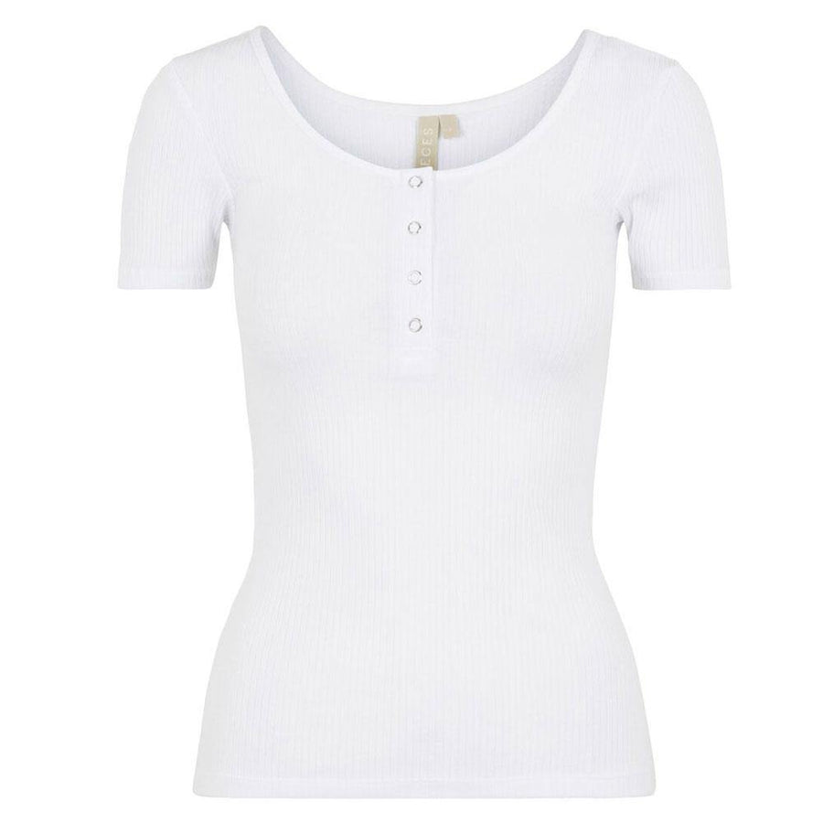 pieces kitte ribbed top - JAVELIN