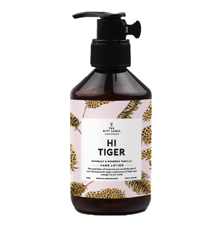 THE GIFT LABEL HI TIGER HAND LOTION - JAVELIN