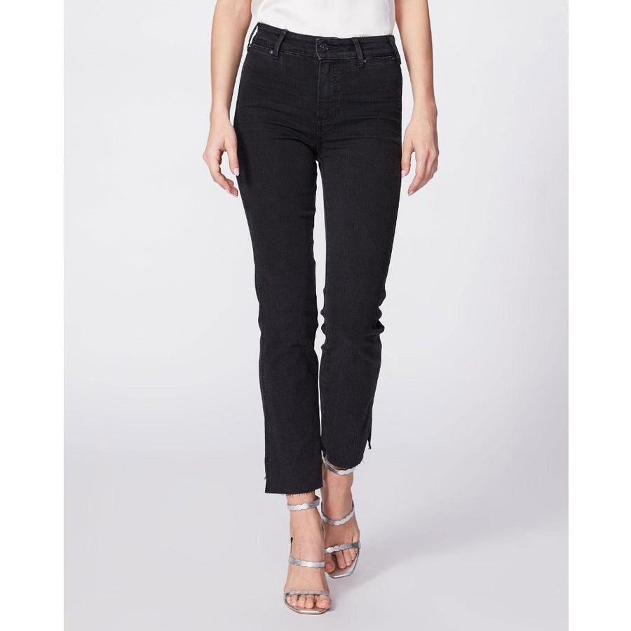 PAIGE CINDY STRAIGHT LIGHTS OUT JEANS