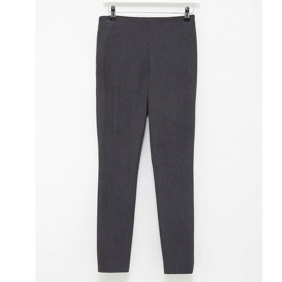 french connection calimero stretch mini dogtooth trouser - JAVELIN