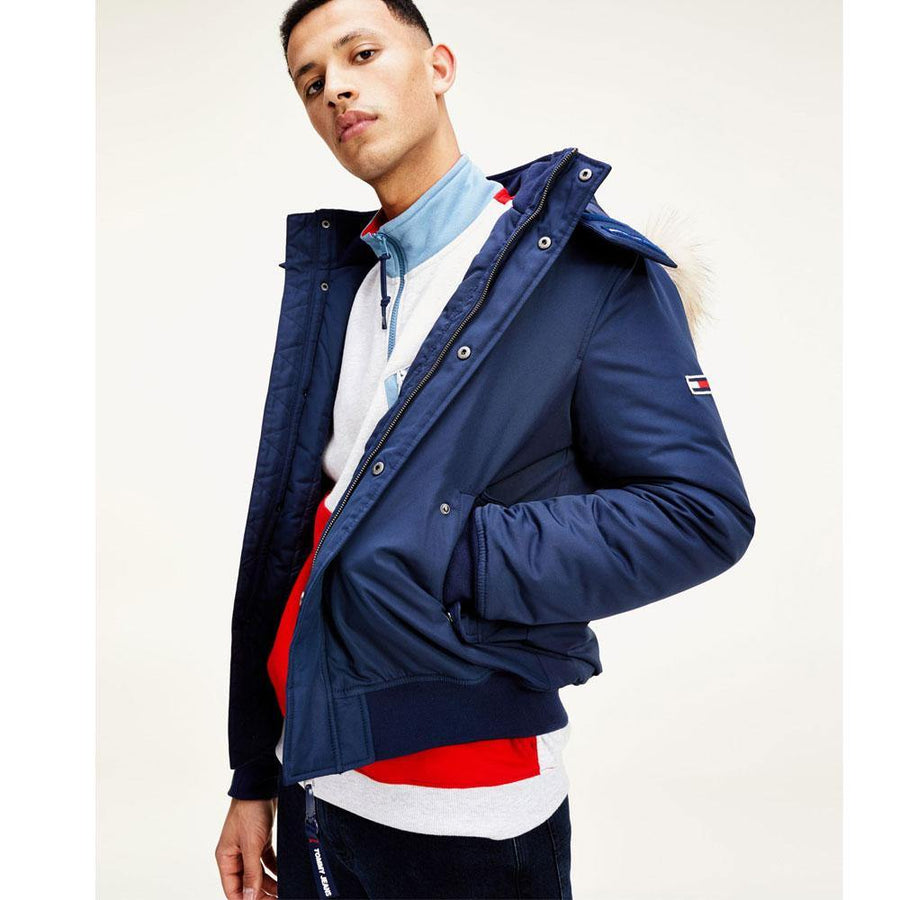 tommy jeans tech bomber - JAVELIN