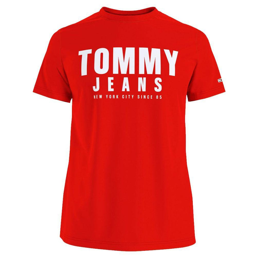 tommy jeans centre graphic t-shirt - JAVELIN