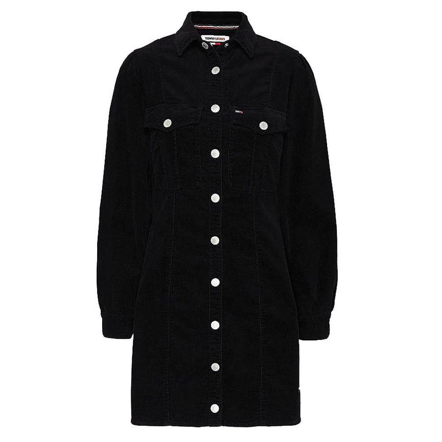 tommy jeans fitted shirt dress - JAVELIN