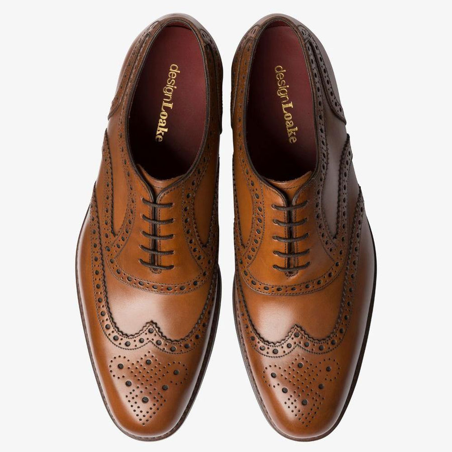 loake kerridge cedar brogue