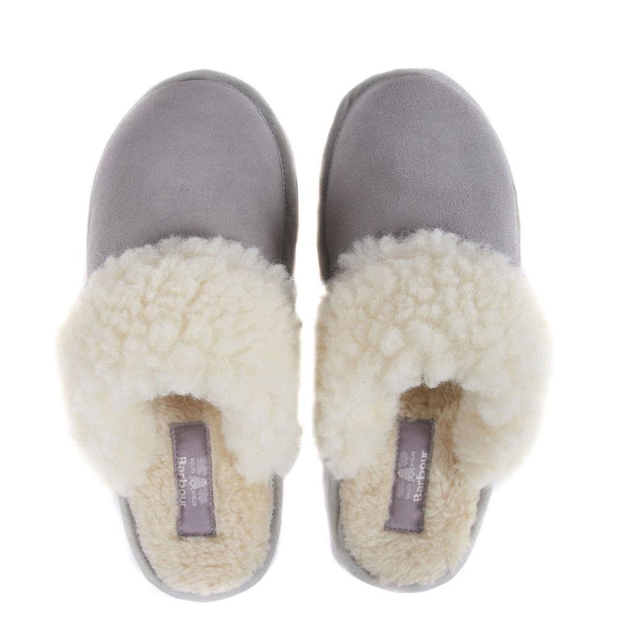 barbour lydia mule slippers