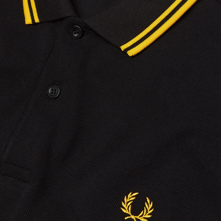 fred perry m3600 twin tipped polo shirt - JAVELIN