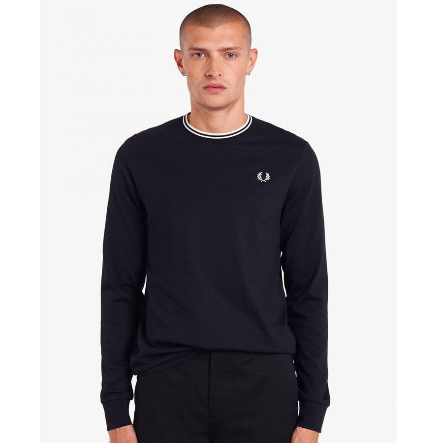 fred perry twin tipped ls t-shirt - JAVELIN