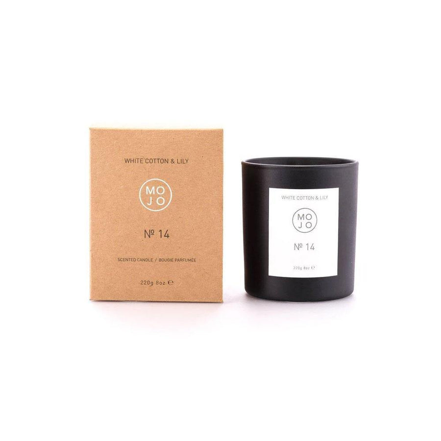 MOJO LILY AND COTTON CANDLE NO 14