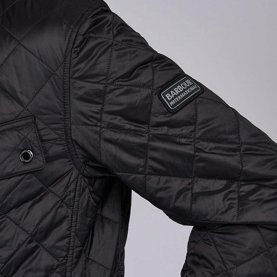BARBOUR INTL. SOFT TOUCH ARIEL QUILT JACKET - JAVELIN