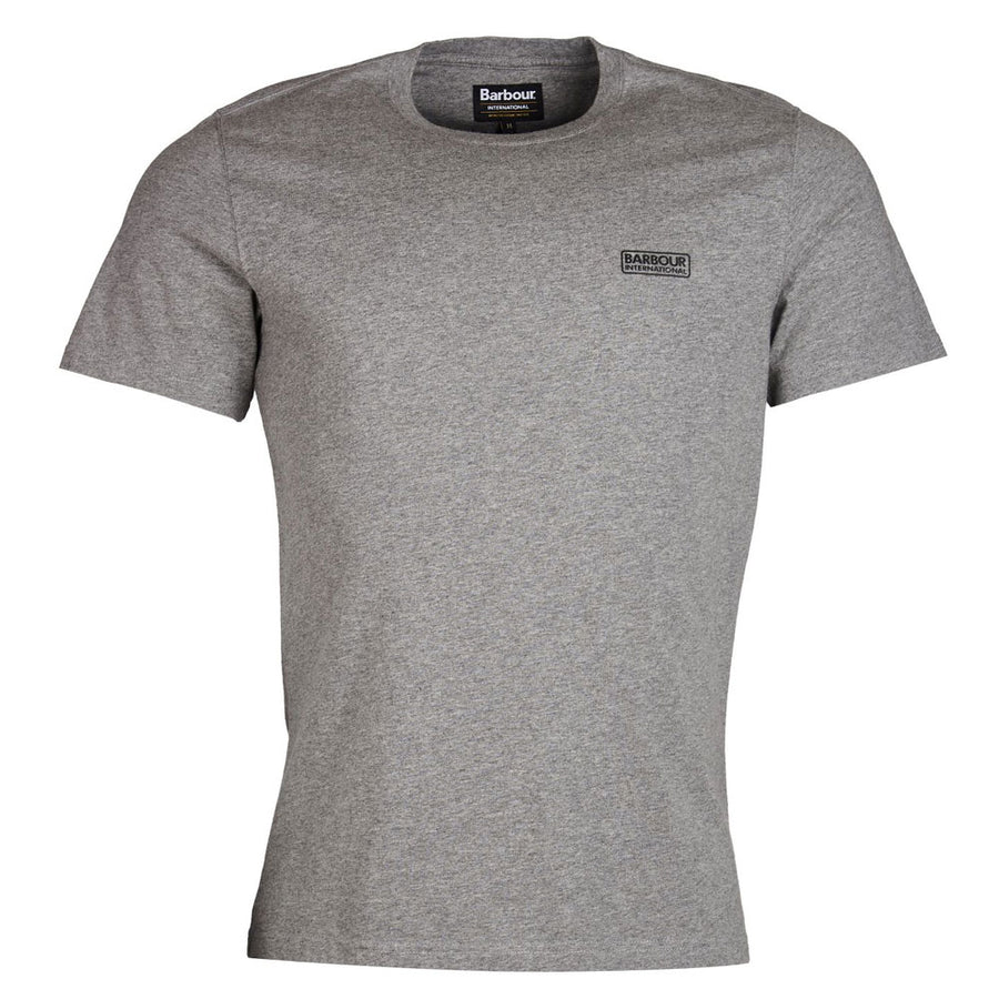 barbour intl. small logo t-shirt - JAVELIN