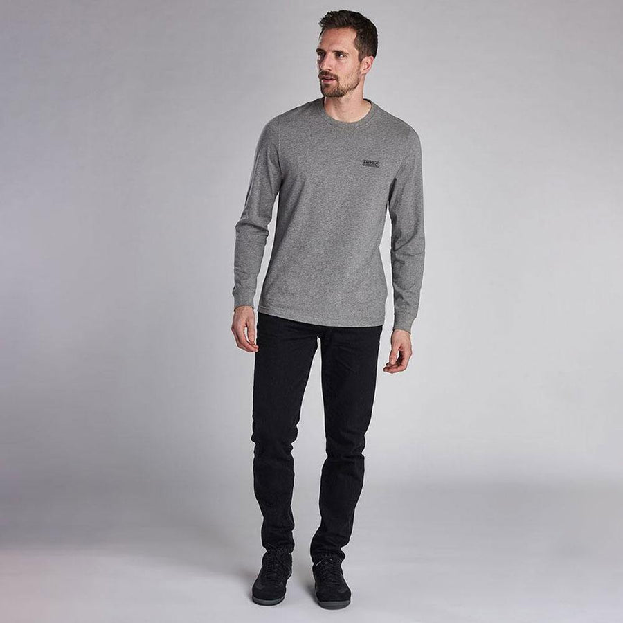 barbour intl. long sleeved logo t-shirt - JAVELIN