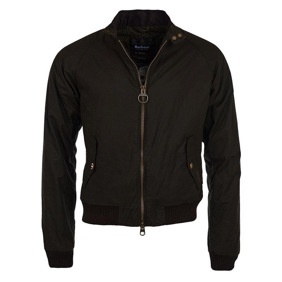BARBOUR INTL. STEVE MCQUEEN MERCHANT WAX JACKET