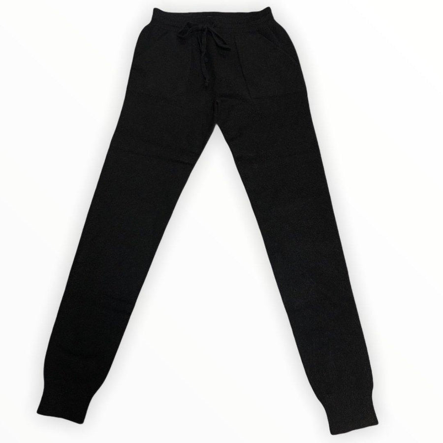 knitted soft slim lounge pants