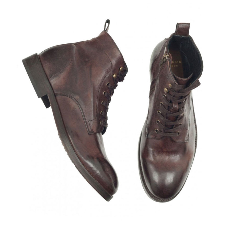 HUDSON RUNE LEATHER BOOTS - JAVELIN