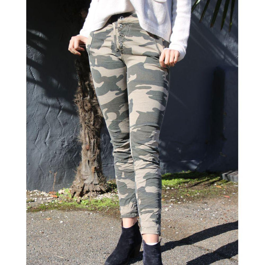 angel lane camo jeans - JAVELIN