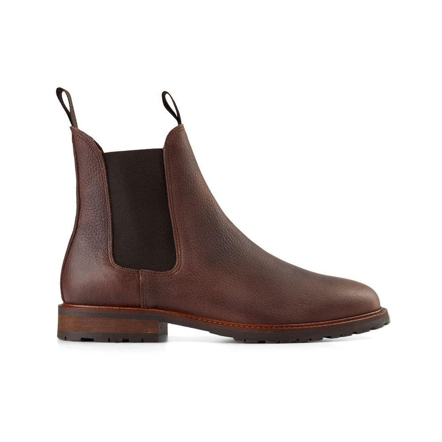 SHOE THE BEAR YORK LEATHER CHELSEA BOOTS