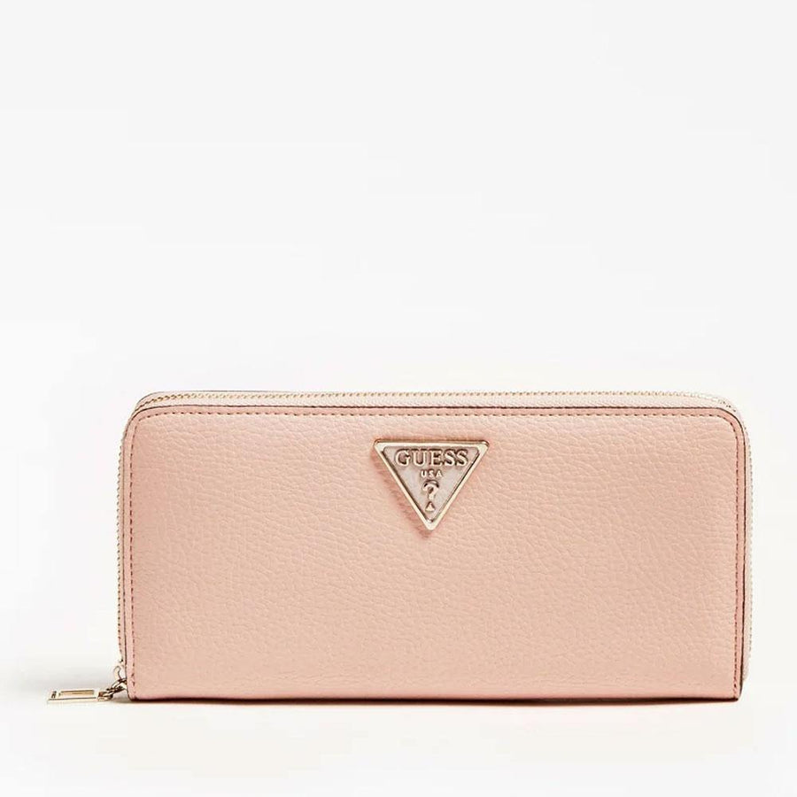 guess becca long zipper wallet