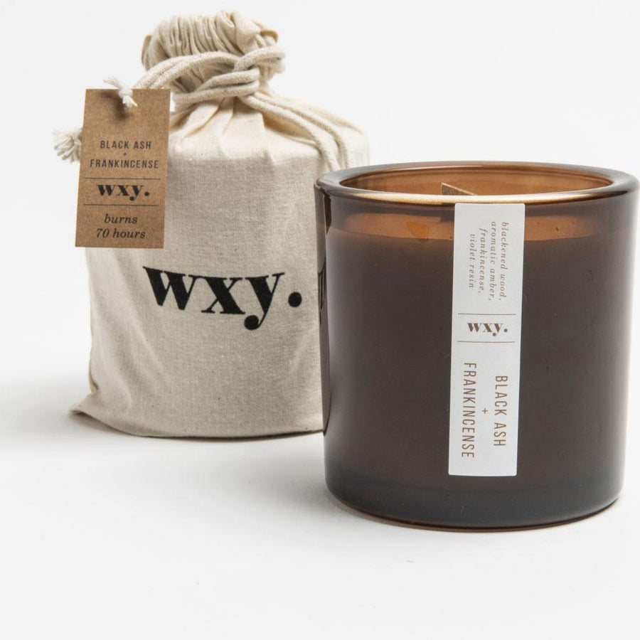 wxy big amber. black ash & frankincense - JAVELIN