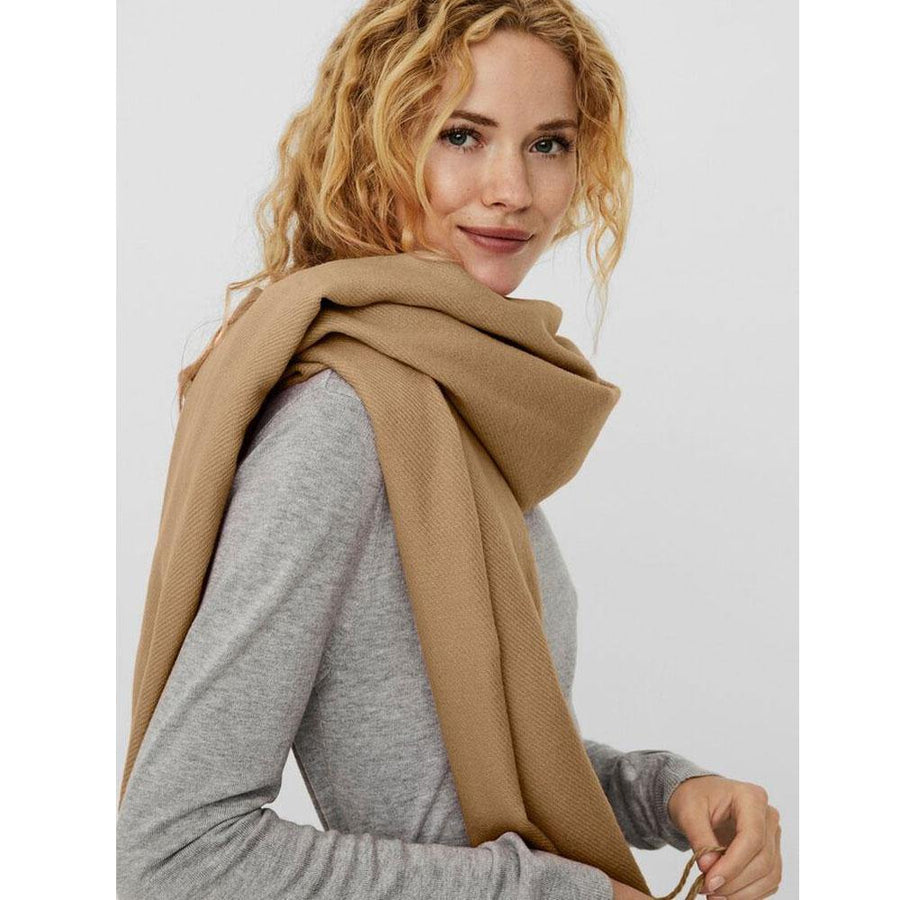 vero moda solid long scarf