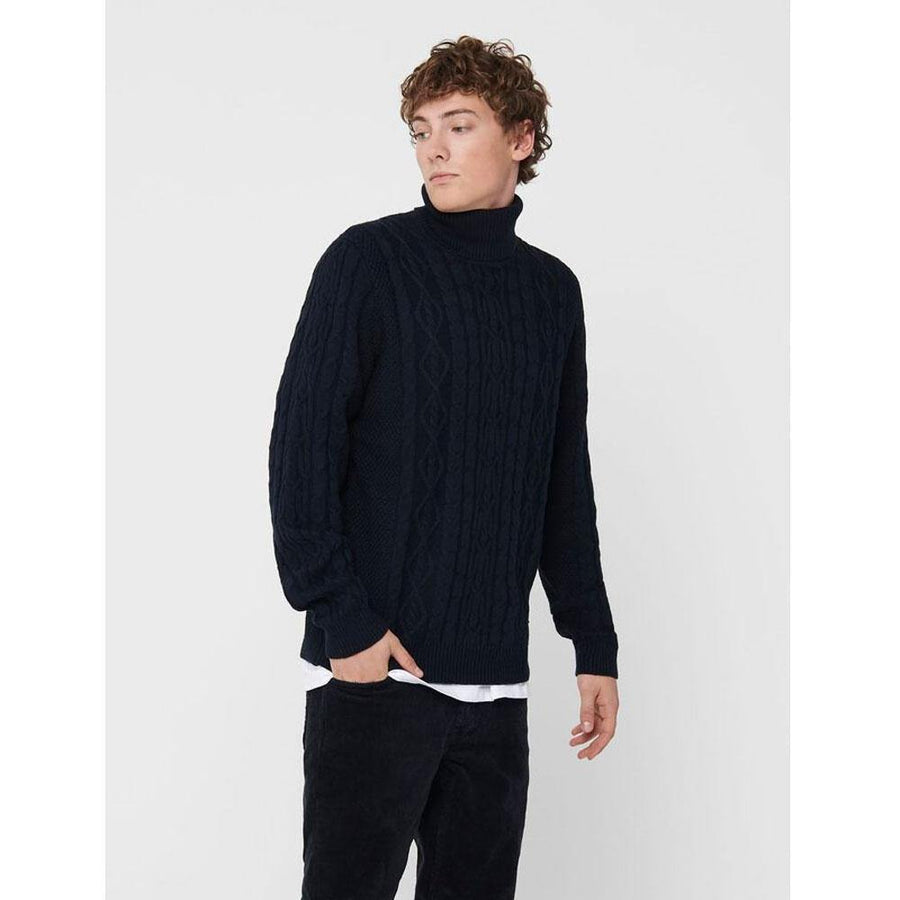 only & sons rigged pullover - JAVELIN