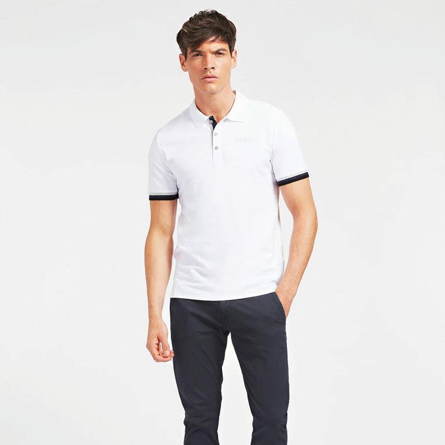 guess clancy polo shirt - JAVELIN