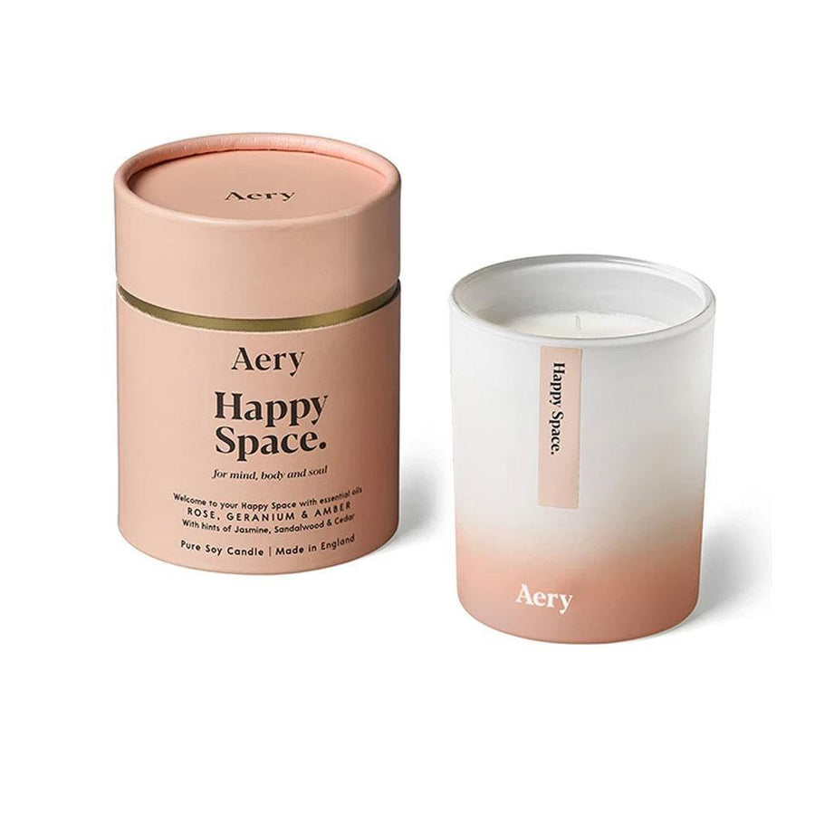 aery happy space candle 200g - JAVELIN