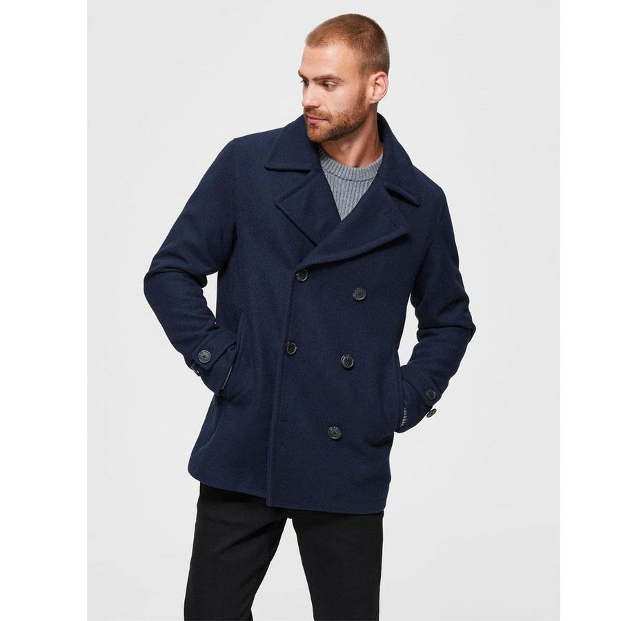selected iconics peacoat