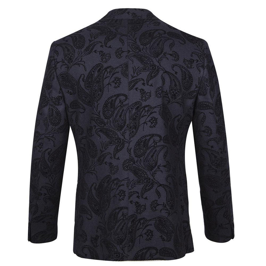 guide paisley flock jacket - JAVELIN
