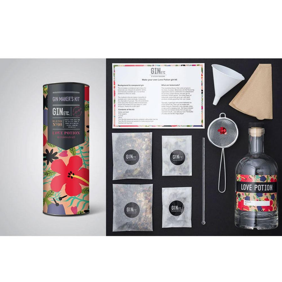 love potion gin kit