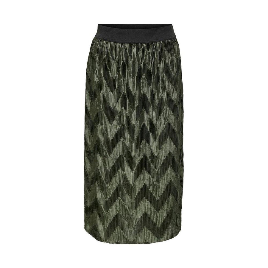 maci pleated skirt by jacqueline de yong