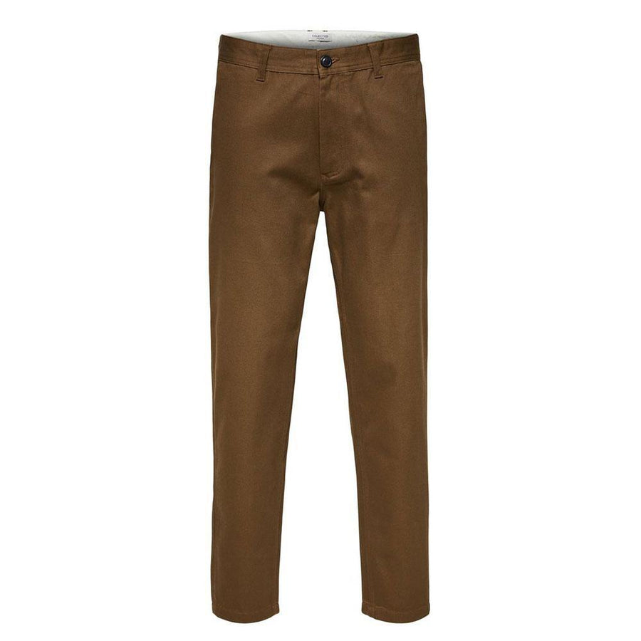 selected max slim fit trousers